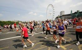 2013, maratona di Britannici 10km Londra Fotografie Stock Libere da Diritti