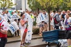 Maratona 2013 di Copenhaghen Fotografie Stock