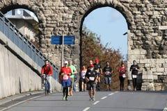38 Maratona di Costantinopoli Immagine Stock