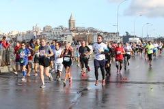 38 Maratona di Costantinopoli Fotografie Stock Libere da Diritti