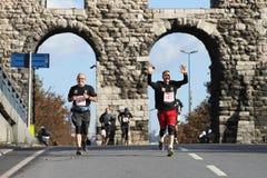 38 Maratona di Costantinopoli Immagini Stock