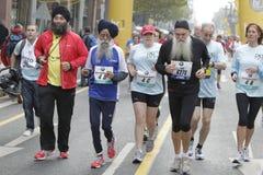 Maratona di Francoforte Fotografia Stock Libera da Diritti