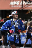 Maratona di ING New York City, modulo Giappone del corridore Immagine Stock Libera da Diritti