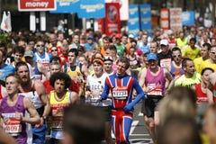 Maratona 2013 di Londra Immagini Stock