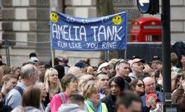 Maratona 2013 di Londra Fotografia Stock