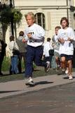Maratona di pace di Kosice - esecuzione corporativa fotografia stock libera da diritti