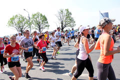 Maratona 2013 di Riga Fotografie Stock Libere da Diritti