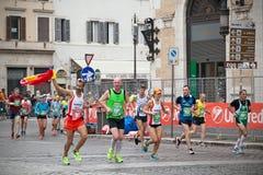 Maratona di Roma Fotografia Stock Libera da Diritti