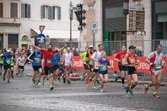 Maratona di Roma Immagini Stock