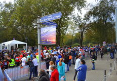Maratona di Sofia Bulgaria Fotografia Stock