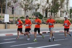 Maratona di Tel Aviv Gillette Fotografia Stock Libera da Diritti