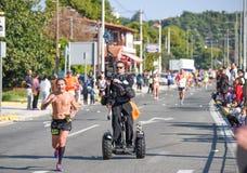 Maratona do clássico de Atenas Imagens de Stock