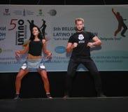 Maratona do Latino Foto de Stock Royalty Free