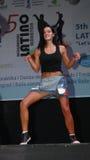 Maratona do Latino Imagem de Stock Royalty Free