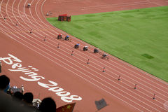 Maratona dos homens em jogos do paralympig de Beijing Imagens de Stock Royalty Free