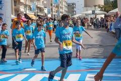 Maratona in Grecia Immagini Stock Libere da Diritti