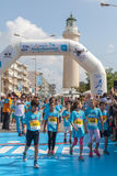 Maratona in Grecia Fotografia Stock