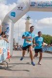 Maratona in Grecia Fotografia Stock Libera da Diritti