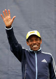 A maratona Haile Gebrselassie de Recordman do mundo Imagem de Stock Royalty Free