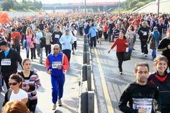 Maratona intercontinental de Eurasia Fotografia de Stock