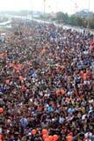Maratona intercontinental de Istambul Eurasia Imagem de Stock Royalty Free