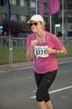 Maratona internacional Sacramento de Califórnia Imagem de Stock Royalty Free