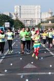 Maratona internazionale 2015 di Bucarest Fotografie Stock Libere da Diritti