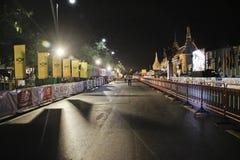 Maratona istituita standard di Bnagkok Immagini Stock