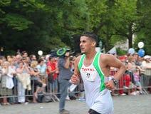 Maratona o 31 de maio de 2009 em Bruxelas, Bélgica Fotografia de Stock