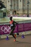 Maratona olimpica 2012 Fotografia Stock Libera da Diritti