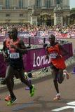 Maratona olimpica 2012 Immagini Stock