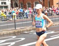 Maratona olimpica di Londra 2012 Immagini Stock