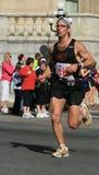 Maratona - resistenza e sudore fotografia stock libera da diritti
