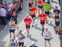 Maratona running dos povos Imagens de Stock