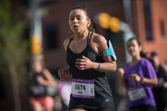 Maratona ScotiaBank 2018 de Calgary Foto de Stock