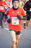 Maratonlöpare royaltyfri foto