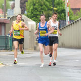 Maratonlöpare Jonathan Cornish arkivbild