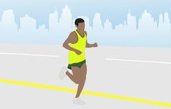 maratonu biegacz Fotografia Royalty Free