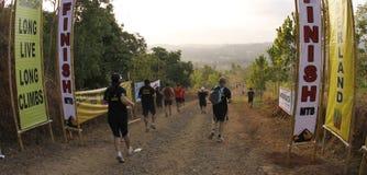 maratonu biegaczów ślad Fotografia Royalty Free