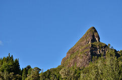 Maratoto Rock. Coromandel, New Zealand Royalty Free Stock Photography