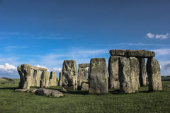 A maravilha de Stonehenge arruina o Reino Unido fotografia de stock royalty free