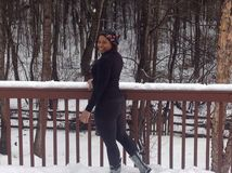 Maravilha do inverno Fotografia de Stock Royalty Free