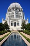 Maravilla arquitectónica, con la piscina de reflejo Fotografía de archivo libre de regalías