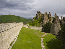 Maravilla-fenómeno búlgaro de las rocas de Belogradchik Imágenes de archivo libres de regalías