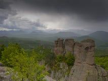 Maravilla-fenómeno búlgaro de las rocas de Belogradchik Imagenes de archivo