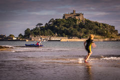Marazion beach Royalty Free Stock Photography
