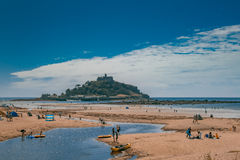 Marazion beach Stock Photography