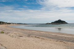Marazion in Cornwall Stock Image