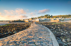 Marazion in Cornwall Royalty Free Stock Photo