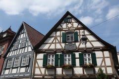 Marbach am Neckar, Baden-Wurttemberg, Alemania fotos de archivo